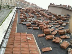 incek çatı Tamir